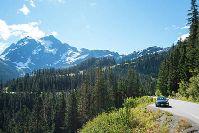 Photograph - Road To Mt Baker by Tom Cochran