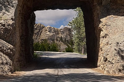 Road To Mt. Rushmore Art Print