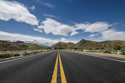 Photograph - Road To Mt. Whitney by Margaret Pitcher