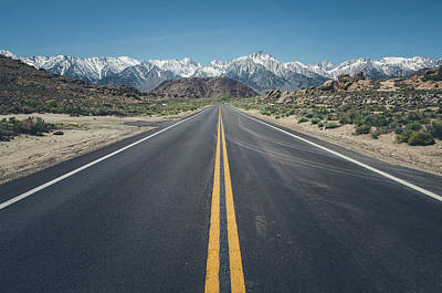 Photograph - Road To Mt. Whitney No.2 by Margaret Pitcher