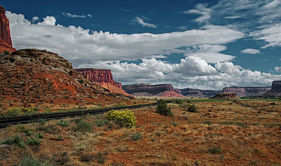 Photograph - Road To Needles District 3 by Alex Galkin