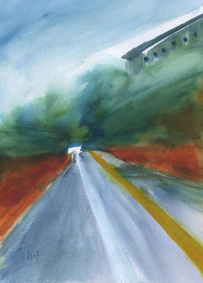 Painting - Road To Nowhere by Frank Bright