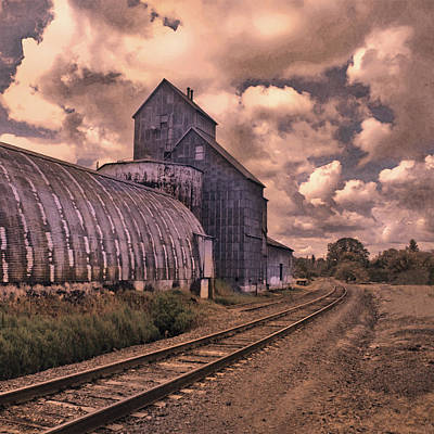 Fused Photograph - Road To Nowhere by Jeff Burgess