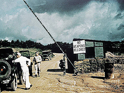 Photograph - Road To Panmunjom, Korea, Into The Dmz - Demilitarized Zone - April 1953 by Merton Allen