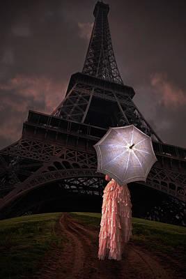 Digital Art - Road To Paris by Mihaela Pater