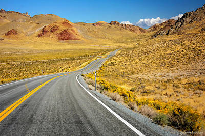 Photograph - Road To Pyramid Lake Nv by LeeAnn McLaneGoetz McLaneGoetzStudioLLCcom