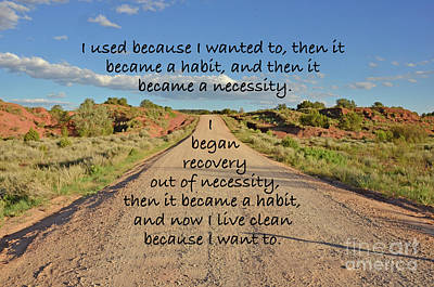 Road To Recovery Art Print