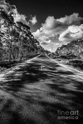 Country Road Wall Art - Photograph - Road To Rossarden by Jorgo Photography - Wall Art Gallery