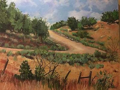 Painting - Road To Santa Fe  by Gloria Smith