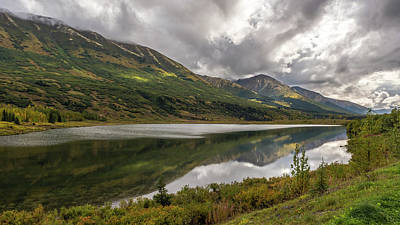 Photograph - Road To Seward, Alaska by Brenda Jacobs