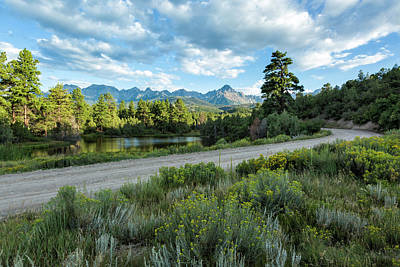 Photograph - Road To Sneffels by Denise Bush