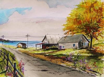 Painting - Road To The Bay by John Williams