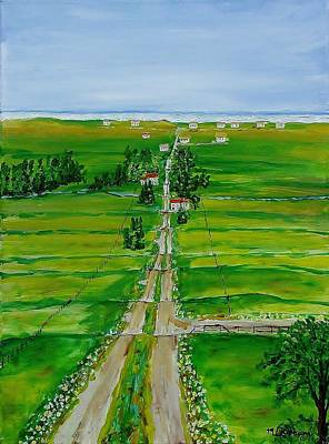 Painting - Road To The Beach by Mike Caitham