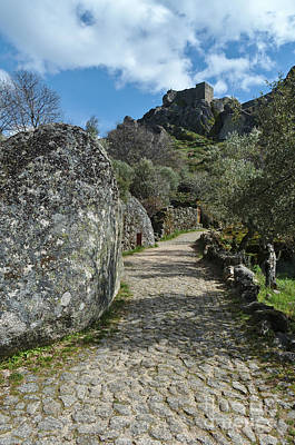 Photograph - Road To The Castle In Monsanto by Angelo DeVal
