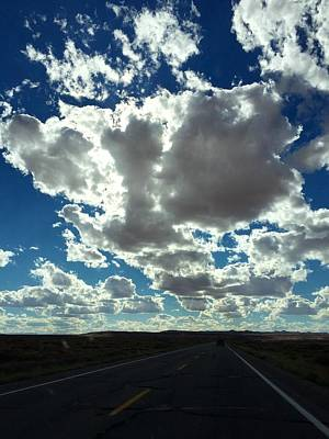 Photograph - Road To The Clouds by Anne Sands