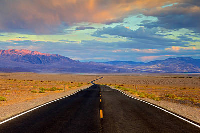 Print featuring the photograph Road To The Dreams by Evgeny Vasenev