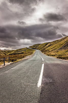 Photograph - Road To The Edge by David Warrington