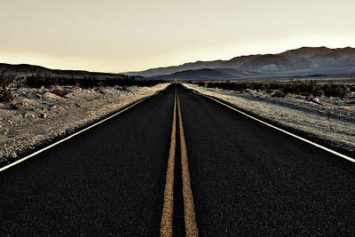 Photograph - Road To The End by CJ Schmit