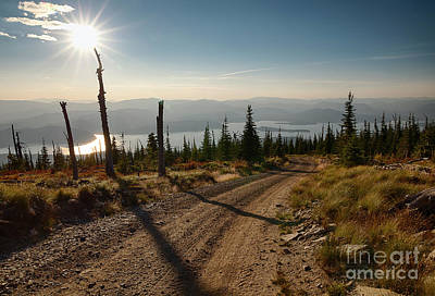 Photograph - Road To The Lake by Idaho Scenic Images Linda Lantzy