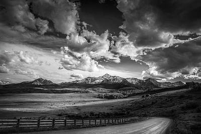 Photograph - Road To The Mountains by Andrew Soundarajan