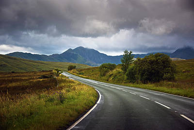 Photograph - Road To The Mountains by Svetlana Sewell