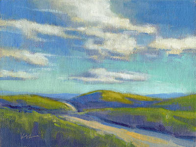 Painting - Road To The Sky by Konnie Kim