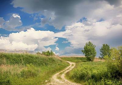 Photograph - Road To The Sky by Patti Raine