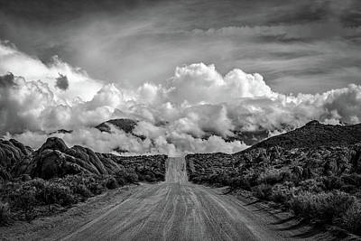 Hdr Landscape Photograph - Road To The Sky by Peter Tellone