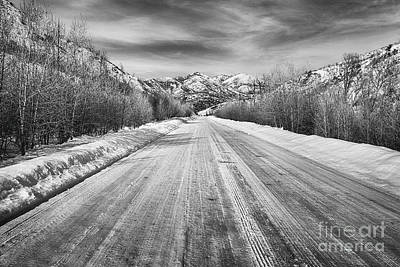 Photograph - Road To The Slopes by David Millenheft