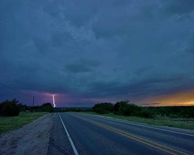 Photograph - Road To The Storm by Ed Sweeney
