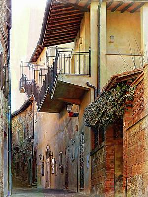 Photograph - Road To The Theatre Panicale by Dorothy Berry-Lound