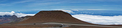Photograph - Road To The Top - Hawaiian Panorama by Bob Slitzan