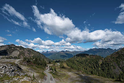 Photograph - Road To The Top by Tom Cochran