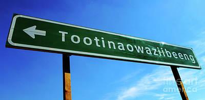 Photograph - Road To Tootinaowaziibeeng by Bob Christopher