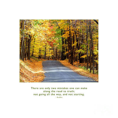 Photograph - Road To Truth by Kristen Fox