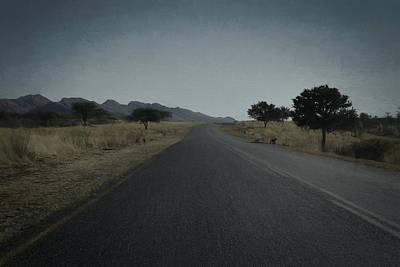 Digital Art - Road To Windhoek by Ernie Echols