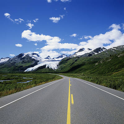 Northern America Art Photograph - Road To Worthington Glacier by Bill Bachmann - Printscapes