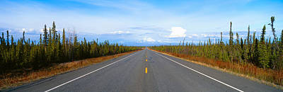 Infinity Photograph - Road To Wrangell, St. Elias National by Panoramic Images