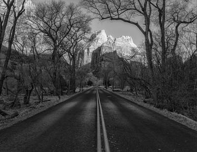 Photograph - Road To Zion by Jonathan Nguyen