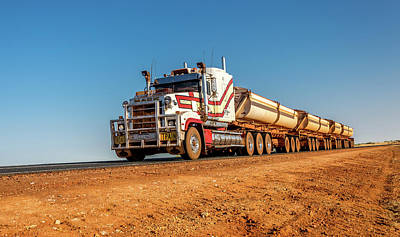 Photograph - Road Train 2 by Martin Capek