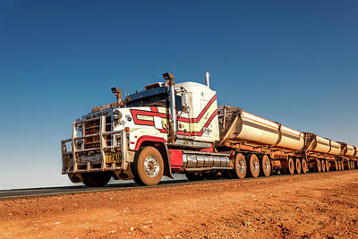 Photograph - Road Train 3 by Martin Capek