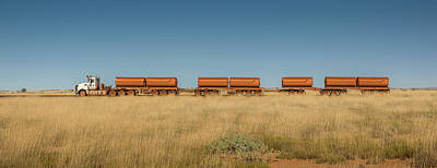 Photograph - Road Train by Martin Capek