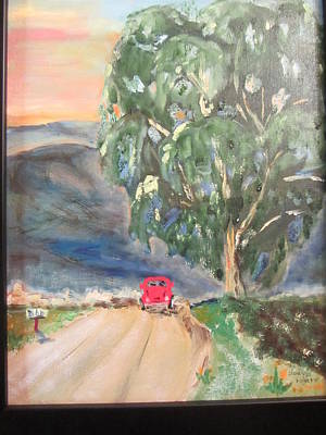 Painting - Road Trip by Dody Rogers