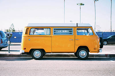 Vw Photograph - Road Trip by Happy Home Artistry