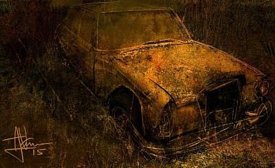 Digital Art - Road Trip by Jim Vance