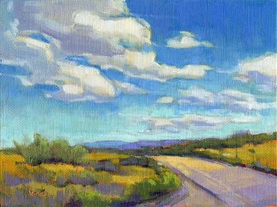 Painting - Road Trip by Konnie Kim