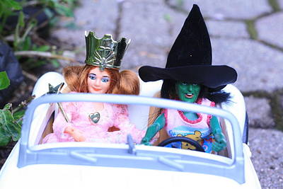 Wicked Witch Of The West Photograph - Road Trip by Susie DeZarn