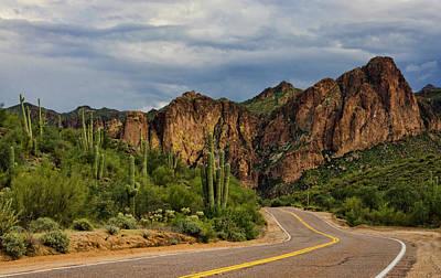 Photograph - Road Trippin In The Sonoran  by Saija Lehtonen