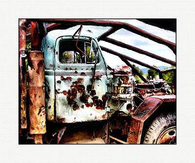 Vandalize Painting - Road Warrior by Susan Kinney