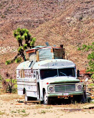 Pioneertown Photograph - Road Warrior by William Dey